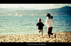 memories ... (shakerk) Tags: ocean park sea summer mountains castle beach kids fun boat sand innocent sunny running explore stanley third sandcastle frontpage yatch