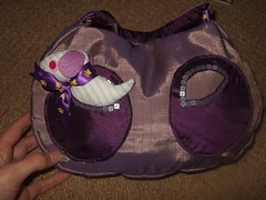 kids hand bag with puppy critter