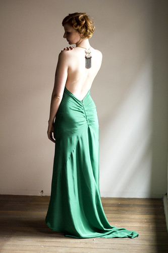 1930's screen siren gown