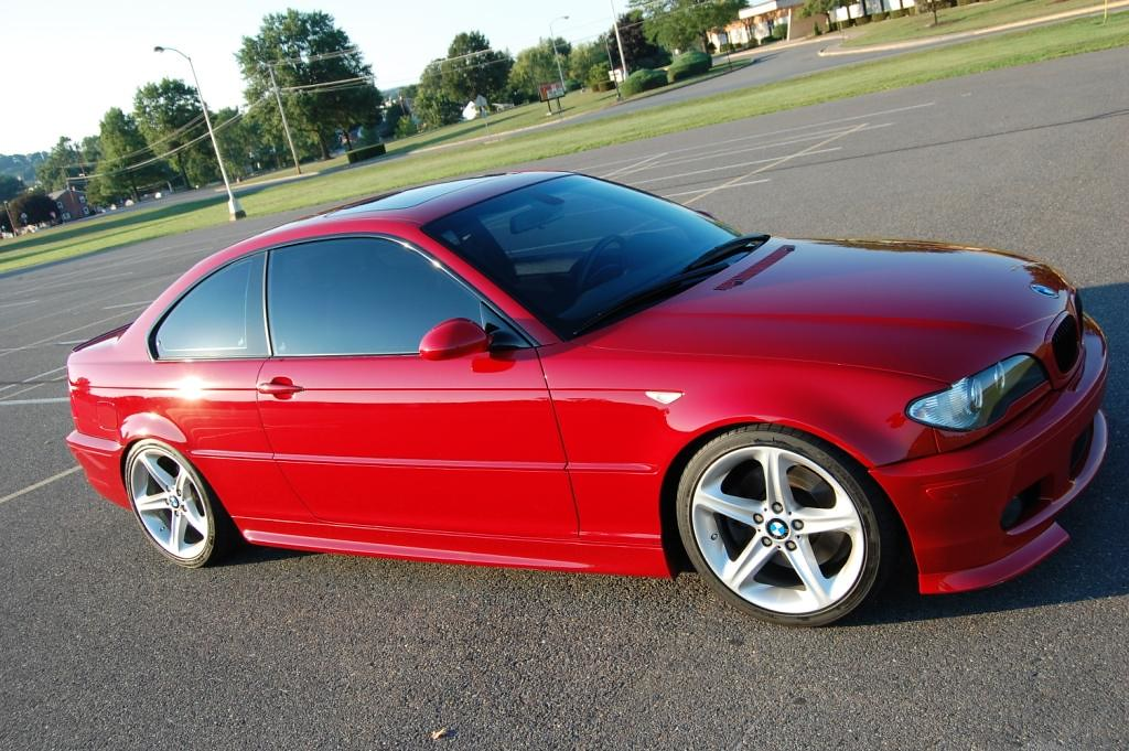 E46 Fs 2005 Bmw 330ci Zhp Imola Red 81k Slightly Modded Miles