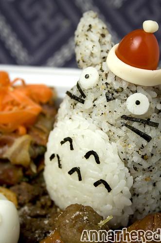 Bento #80: Santa Totoro