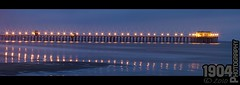 20101225 A Southern California Christmas (1904 Photography) Tags: ocean california water misty night lights star pier long exposure waves diner oceanside rubys