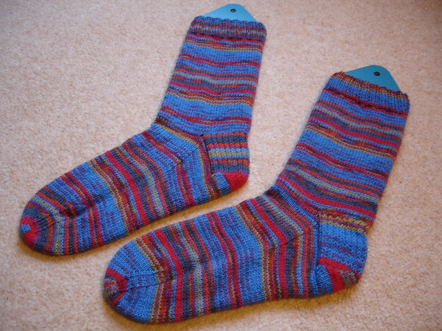 more colourful socks for Michael (1)