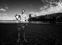 botha (James frost photography) Tags: bw white black beach water sand andre reef bodyboarding bodyboard bodyboarder botha