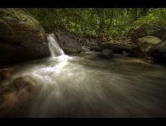 Cascade (mubarak.mashor) Tags: trees forest waterfall rocks stream cascade brunei hdr d3 1424 9exp wasaiwongkadir