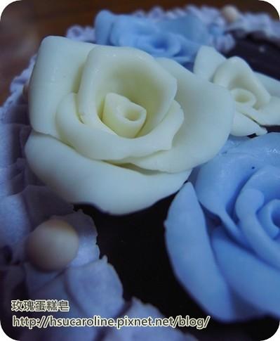 玫瑰蛋糕皂2