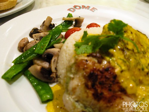 Birthday Dinner @ Dome Cafe
