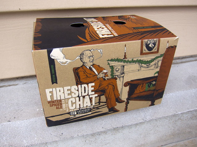 Fireside Chat Winter Spiced Ale