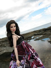 Agnes (ava111sk/Dollypimp) Tags: ocean travel vacation jason water fashion toys coast rocks doll estate dress maine september cape agnes wu royalty regal 2010 integrity louos souol