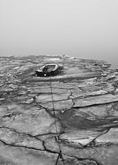 at the edge (E.........'s Diary) Tags: christmas winter mist cold ice fog river scotland boat ross december olympus tay e eddie newburgh 2010 wintery rnbtay e620 decemedinburgh
