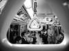 Tokyo Subway - 4 (Luca Rossini) Tags: bw black station japan train canon subway japanese tokyo workers waiting metro 100v10f powershot suit riding g11