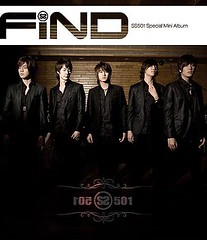 SS501 Special Mini Album - FIND