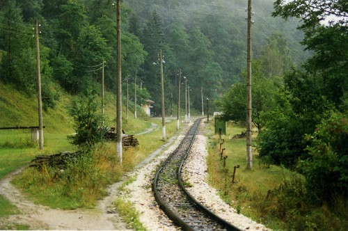 760mm Bulgarian narrow gauge railway, Bansko - Septemvri  1996