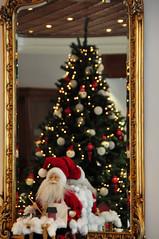 Christmas Tree (RobW_) Tags: santa christmas tree hotel mirror december greece claus thursday spa 2010 galini kamena vourla fthiotida dec2010 30dec2010