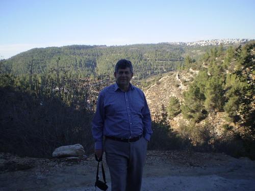Mark Dvoretsky in Ein-Karem