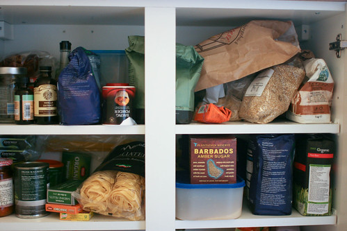 New Year's Resolution: Eat out the larder