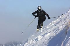 Action (Elysium 2010) Tags: winter snow ski carton wintersport skimountaineering tôle skialpinisme crustedsnow concordians skialpinismo