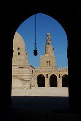 Mosque Ibn Tulun acheve en 879 (Seb & Jen) Tags: africa minaret muslim egypt mosque cairo mosquee egypte islamic afrique musulman lecaire islamique