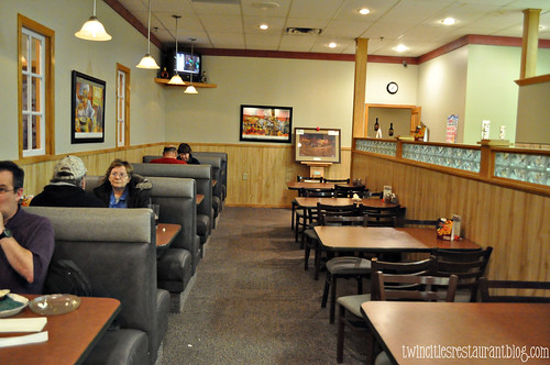 Inside Masetti's Pizza & Pasta ~ Forest Lake, MN