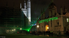 How are you going to transform this year? (Sir Cam) Tags: cambridge university chapel newyear laser resolution kingscollege lightshow transform 2011 sircam 800thanniversary rossashton transformingtomorrow