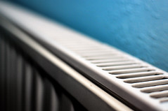 Radiator (Andrew Hounslea) Tags: blue wallpaper white texture field wall 35mm nikon focus pattern g central perspective shallow nikkor 18 35 radiator depth heating selective dx centralheating 18g of d300s favouritemonth afsdxnikkor35mmf18g