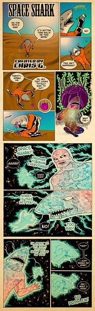 SPACE SHARK #021
