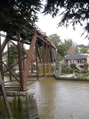 Railroad bridge, Capitola 3709a (DB's travels) Tags: california railroad capitola sierranorthernrailroad tempcrr