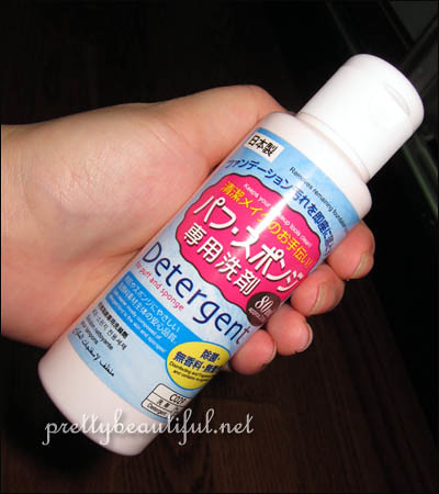 daiso brush cleaner