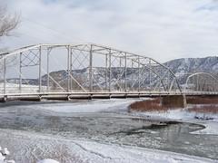 Rifle Bridge 1/1/11 (iagoarchangel) Tags: bridge colorado rifle coloradoriver riflebridge