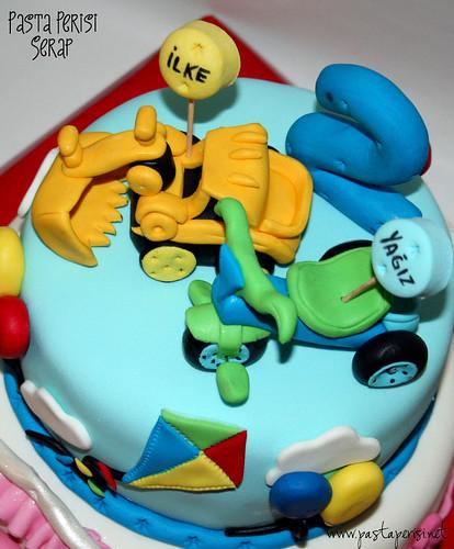 2 yaş bisiklet- doze-şimşek mc pastası