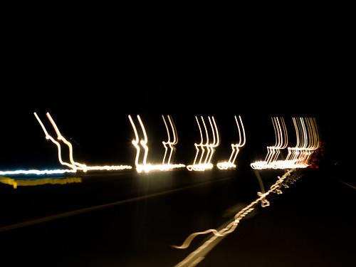 Alone on I-10