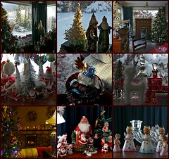 Christmas collage (craftedfromtheheart) Tags: christmas trees decorations snow photoshop vintage artist santas unitedkingdom handmade antique angels londonderry handpainted northernireland sled picnik derry baubles castlerock ulster coleraine cs5 craftedfromtheheart newgoldenseal