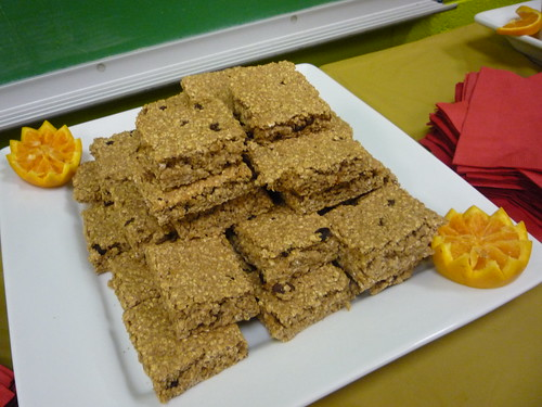 Healthy and nutritious cereal bars—made with USDA commodities—are one of several new healthy options served at Chicago Public Schools.