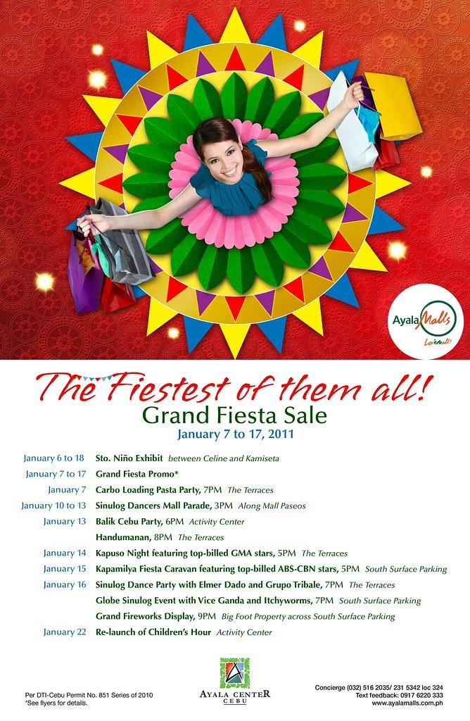 Ayala Center Cebu Grand Fiesta Sale 2011