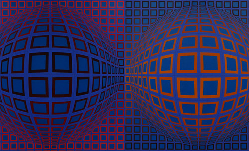 "Victor Vasarely • <a style=""font-size:0.8em;"" href=""http://www.flickr.com/photos/30735181@N00/5324128820/"" target=""_blank"">View on Flickr</a>"
