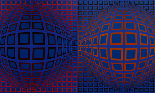 "Victor Vasarely • <a style=""font-size:0.8em;"" href=""http://www.flickr.com/photos/30735181@N00/5324129096/"" target=""_blank"">View on Flickr</a>"