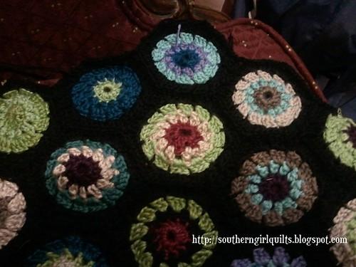 WIP: Hexagon Granny Squares