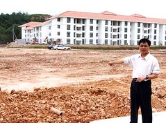 Overpriced low cost housing project for civil servants - RM130, 000 each