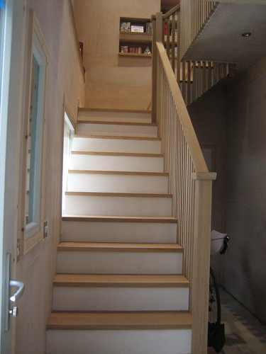 more treated stairs