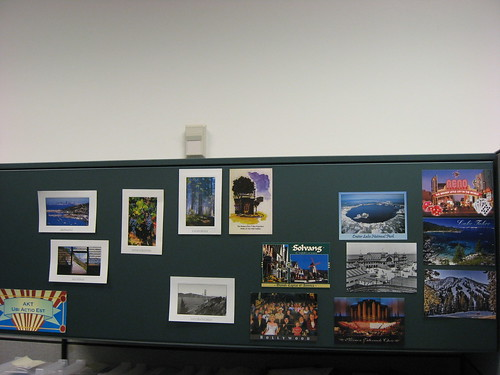 Cubicle revamped 2011