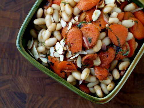 Warm Bean and Carrot Salad with Dill 3