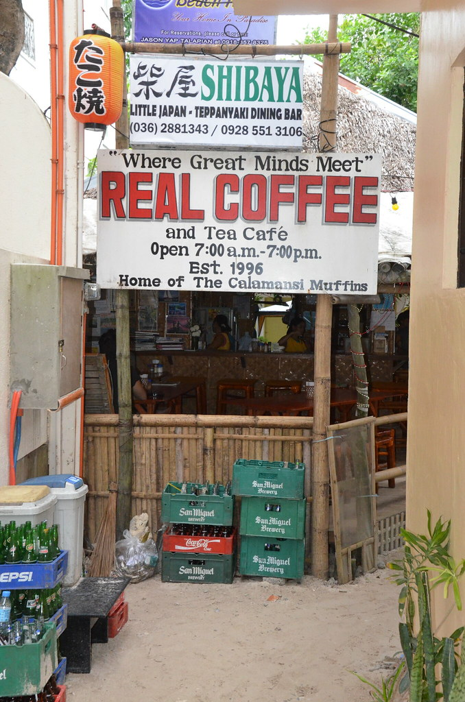 Real Coffee Signage