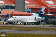 G-GALX - 163 - Richard Branson Charter Air - Dassault Falcon 900EX - Luton - 110104 - Steven Gray - IMG_7427