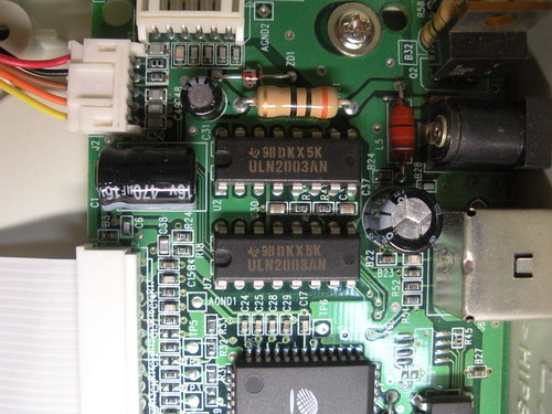 Stepper driver chip ULN2003AN