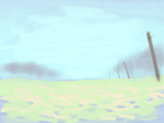 iPad Sketch Number 35 - Field