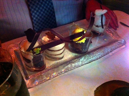 Nouveau Steakhouse - Chocolate Sampler