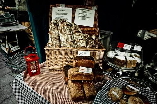 Organic baked bread