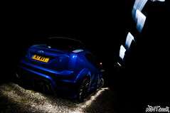 Ford Focus RS Mk2 At Night Long Exposure Light Painting Experimental (NWVT.co.uk) Tags: light ford night painting photography focus long exposure experimental automotive mk2 rs at nwvt