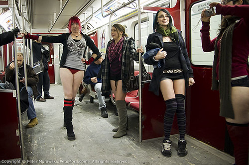 2011 No Pants Subway Ride: Group