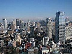 Tokyo, Japan (Marc_P98) Tags: city building tower japan skyline skyscraper tokyo view metropolis tall